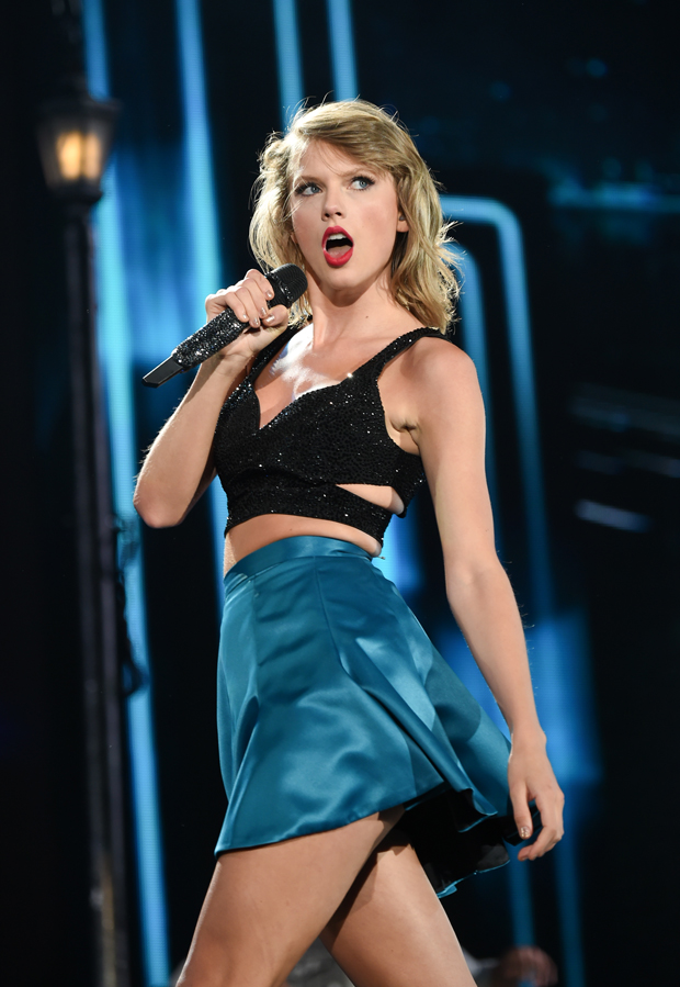 taylor swift 1989 tournée performance