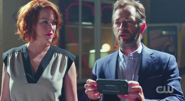 Molly Ringwald, Luke Perry