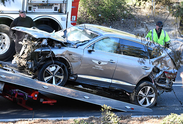 Accident de voiture Tiger Woods