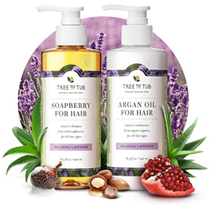 Duo shampooing et revitalisant Tree to Tub