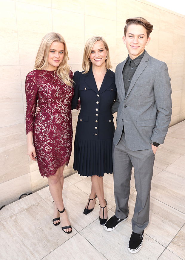 Reese Witherspoon avec sa fille Ava et son fils Deacon
