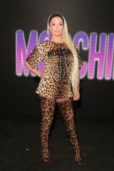 Erika Jayne Moschino x The Sims Party, Coachella Valley Music and Arts Festival, Week-end 1, Jour 2, Indio, USA - 13 avril 2019 Wearing Moschino