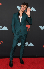 Shawn Mendes MTV Video Music Awards, Arrivals, Fashion Highlights, Prudential Center, New Jersey, USA - 26 août 2019 Wearing Dolce & Gabbana
