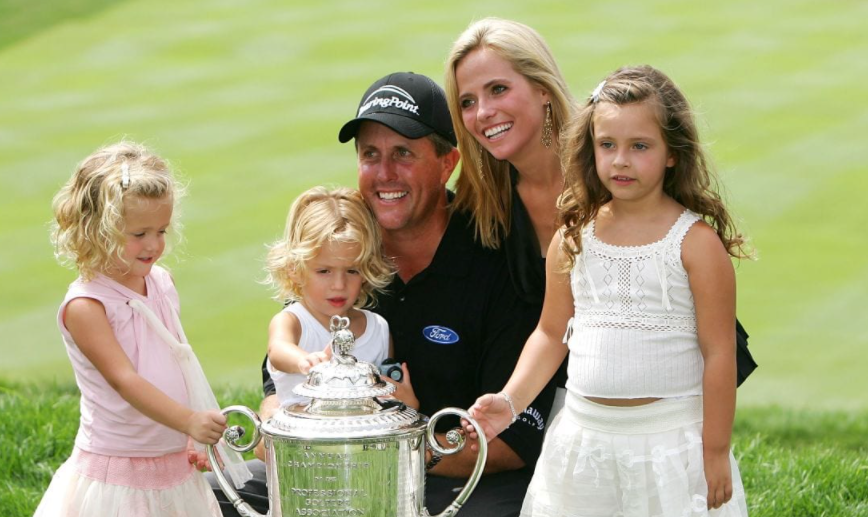 Amy et Phil Mickelson