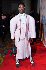 Billy Porter une place à la table : l'Ali Forney Center's Annual Fall Gala, Arrivées, Cipriani Wall Street, New York, USA - 25 Oct 2019 portant Thom Browne
