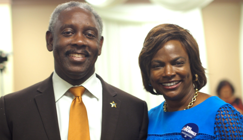 Jerry et Val Demings