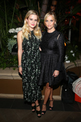 Ava Phillippe et Reese Witherspoon Elle Women In Hollywood, Cocktails, Los Angeles, USA - 16 octobre 2017
