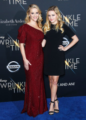Reese Witherspoon, Ava Phillippe 'A Wrinkle in Time' première du film, Arrivées, Los Angeles, USA - 26 février 2018