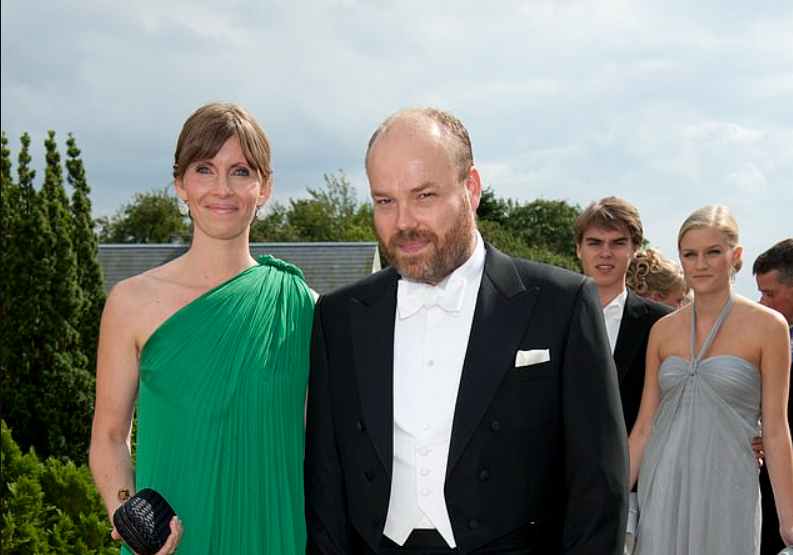 Anders Holch Povlsen et Anne
